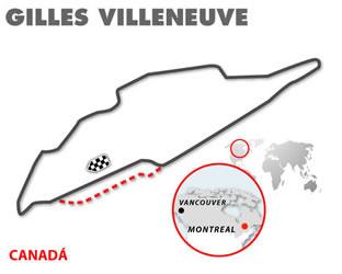 Gilles Villeneuve, Canadá