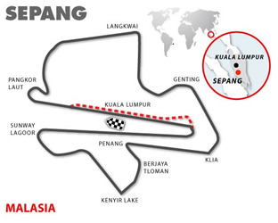 Sepang, Malasia