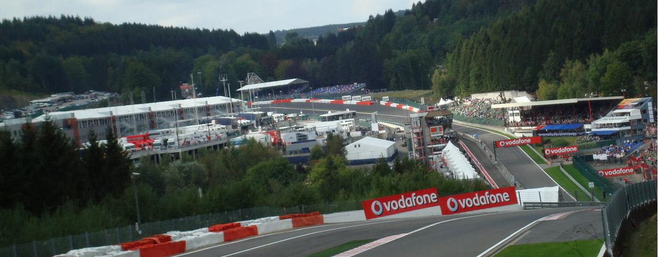 Circuito De Spa Francorchamps : Gran premio de bélgica circuito spa francorchamps