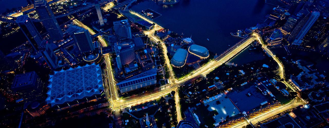 Circuito Callejero De Marina Bay : Gran premio de singapur circuito de marina bay