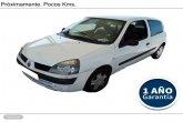 Renault Clio 1.2i Authentique Confort 60 CV