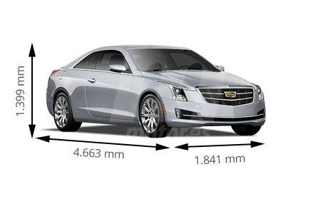 Medidas de coches Cadillac