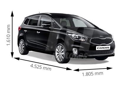 Medidas de coches KIA