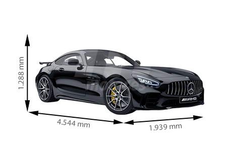 Medidas de coches Mercedes