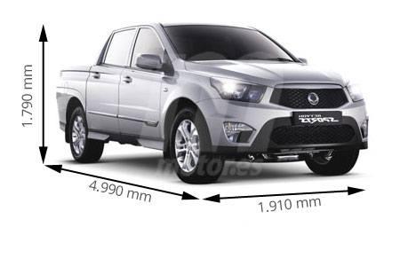 Medidas de coches SsangYong