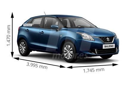 Medidas de coches Suzuki