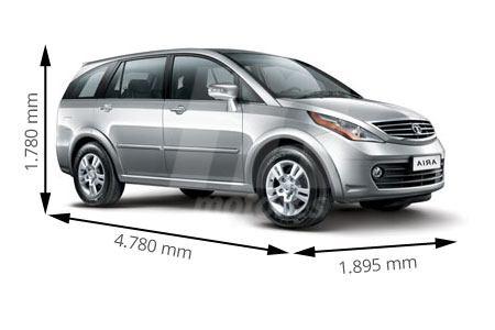 Medidas de coches TATA