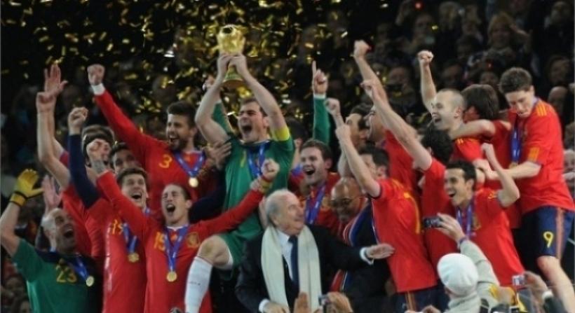 Espa a campeona del mundo - Tarimas del mundo madrid ...