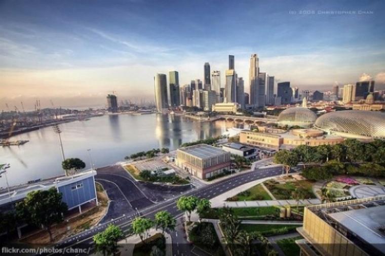 Circuito Callejero De Marina Bay : Gp de singapur recorrido virtual por el circuito motor