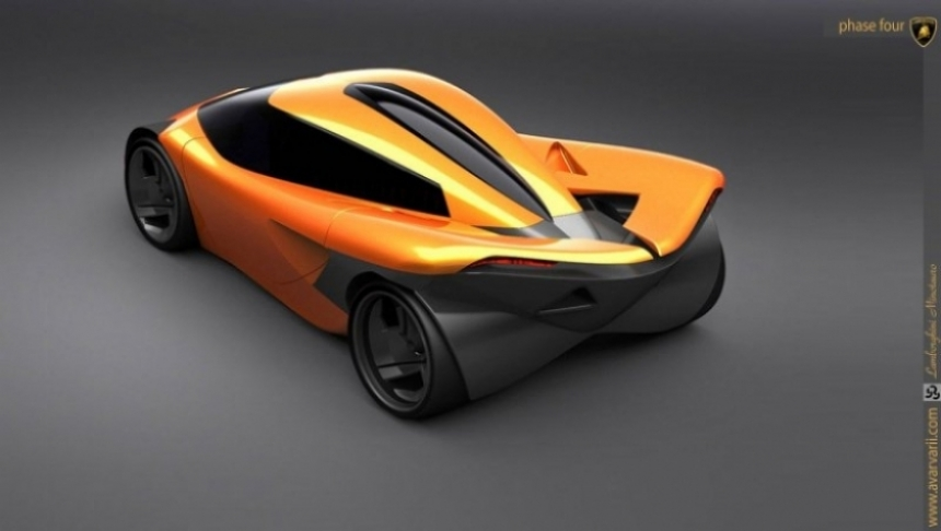 Lamborghini Minotauro Concept, un eléctrico para 2020.