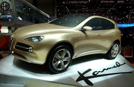 Alfa lanzaría dos SUV antes de 2015.