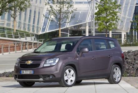 Chevrolet revela los precios y las versiones del Orlando para España