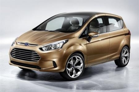 El B-Max será el primero en utilizar el motor tres cilindros de Ford