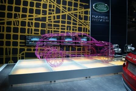 Land Rover Range Rover Evoque, nos los presenta en primicia Luis Antonio Ruiz, Presidente de Jaguar Land Rover