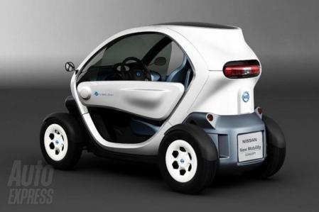 Nissan revela su propia versión del Twizy