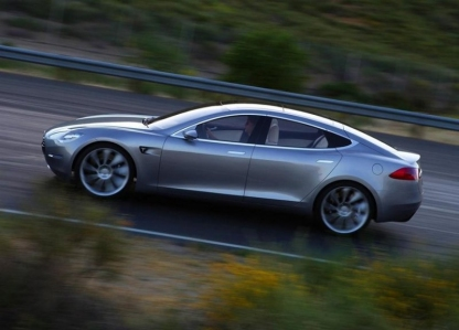 Nuevas fotos del Tesla Sedan