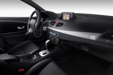 Renault presenta el Fluence Eléctrico.
