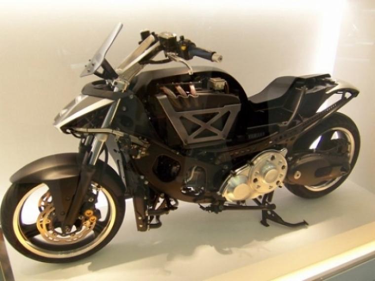 Toyota Ft 86 >> Toyota y Yamaha presentan una moto híbrida en el salón de Tokio - Motor.es