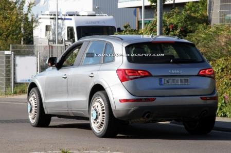 Fotos espía del Audi Q6