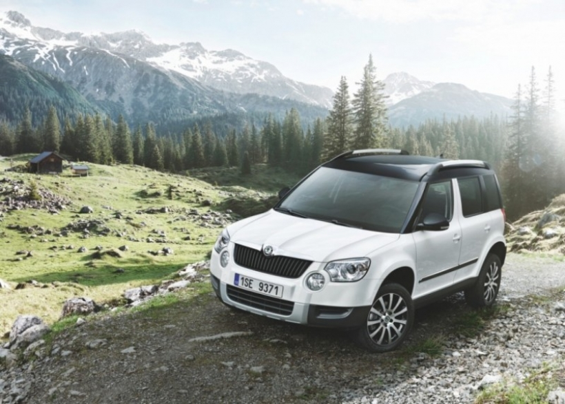nuevo skoda yeti mont blanc. Black Bedroom Furniture Sets. Home Design Ideas