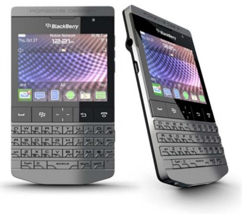 Porsche tel fono blackberry for Telefono bb