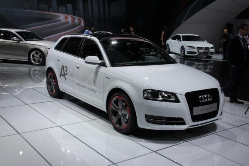 Audi A3 e tron hatch en Los Ángeles Motor