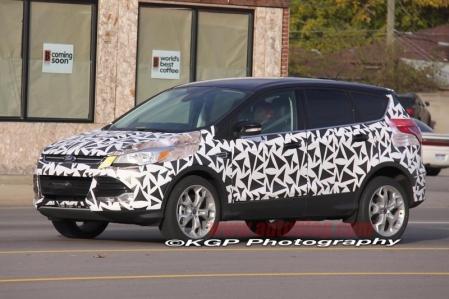 Fotos espía del Ford Kuga 2013 con menos camuflaje que nunca