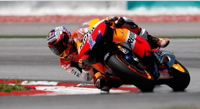 Tests Sepang Moto GP, Día 3: Stoner vuelve a arrasar
