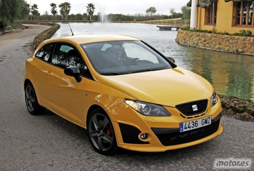 nuevo seat ibiza cupra 2009 un peque o muy juguet n. Black Bedroom Furniture Sets. Home Design Ideas