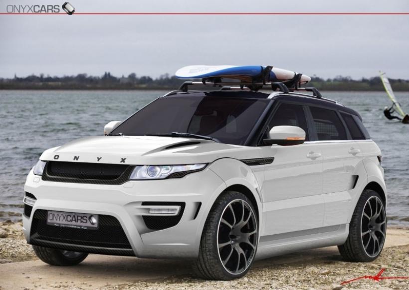 onyx range rover evoque rouge edition. Black Bedroom Furniture Sets. Home Design Ideas