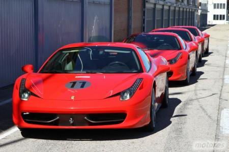Ferrari 458 Italia. Alumno de Alonso y piloto de Ferrari por un día