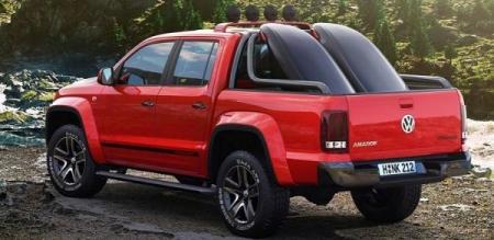 Volkswagen Amarok Canyon Concept presentado en el Salón de Ginebra
