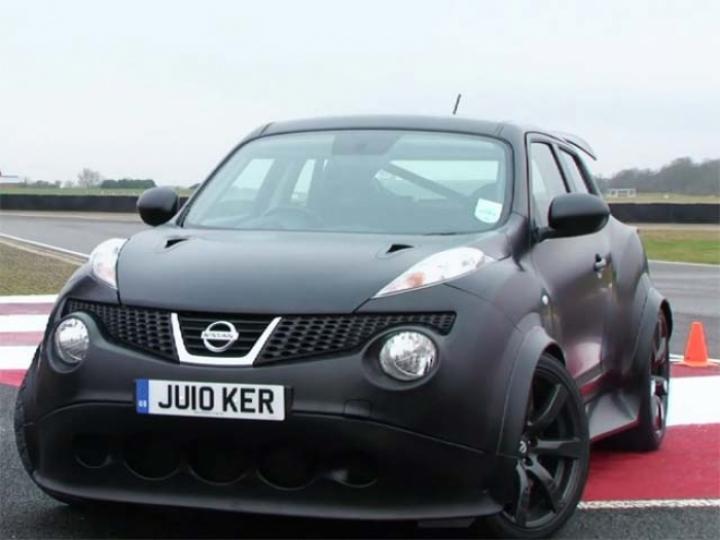 Nissan juke r enfrenta al gt r for Nissan juke with gtr motor