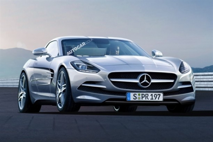Mercedes slc producci n confirmada for Mercedes benz deportivo