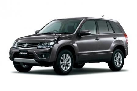 Suzuki Escudo 2013, nueva cara para el Grand Vitara