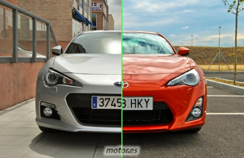 comparativa toyota gt86 vs subaru brz cu les son sus diferencias y cu l elegir. Black Bedroom Furniture Sets. Home Design Ideas