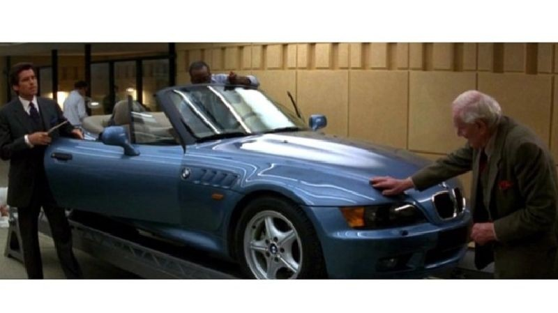 Los Coches De James Bond Iv Bmw Z3 1995