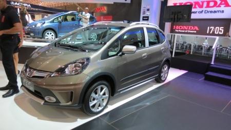 Honda presentó el Jazz Twist, preparado para la aventura