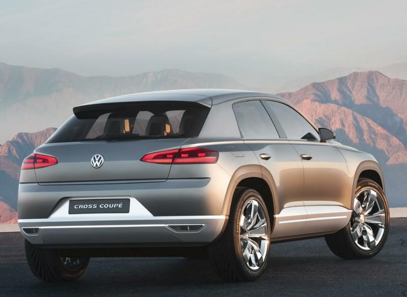 llegar en 2014 Volkswagen ampliará su gama con dos nuevos crossovers