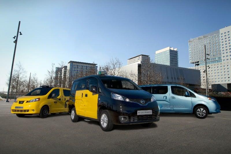 partir del 2 de enero El Nissan NV200, el nuevo taxi de Barcelona