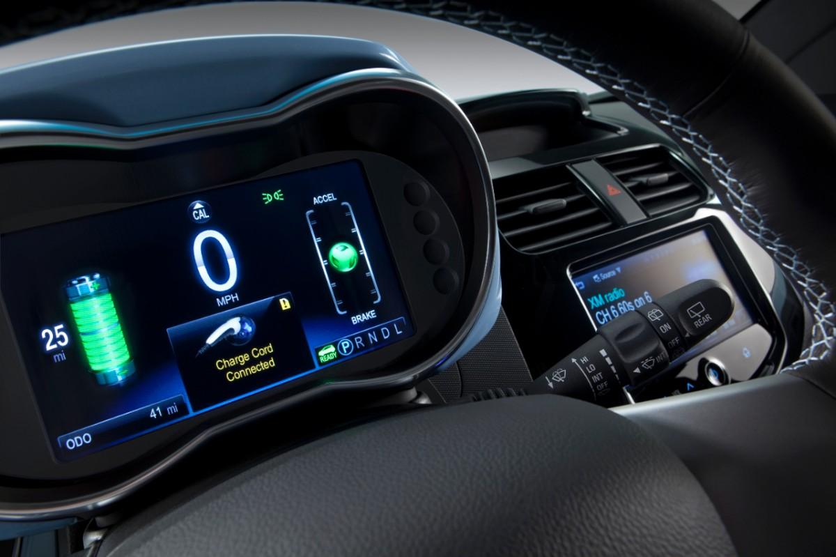 Interior Chevrolet Spark EV
