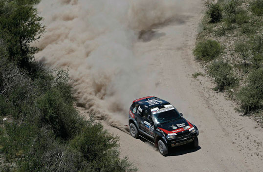 Orlando Terranova BMW X3 Rally Dakar 2013