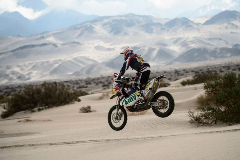 Rally Dakar 2013 Kurt Caselli