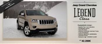 "Jeep Grand Cherokee ""Legend Class"", sólo para 75 afortunados"