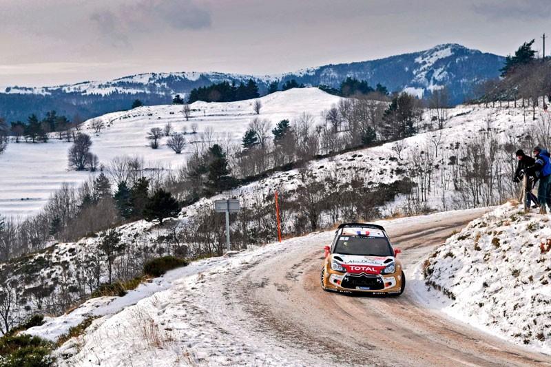 Rally Montecarlo  Sebastien Loeb