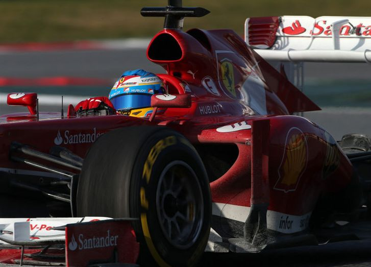 alonso ultimo dia tests f1 2013