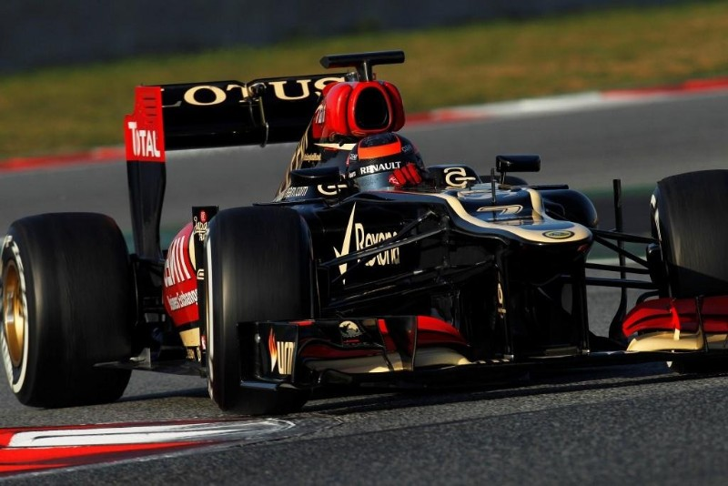kimi raikkonen ultimo dia tests f1 2013