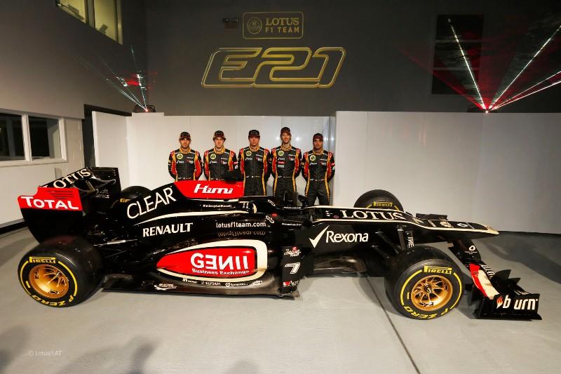 pilotos lotus f1 team 2013