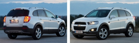 Chevrolet Captiva ya disponible en los concesionarios
