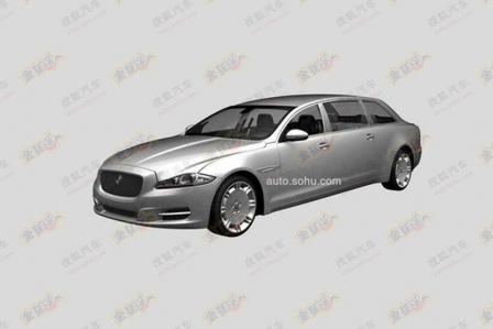 Filtrado: ¿Jaguar XJ limusina para el mercado chino?